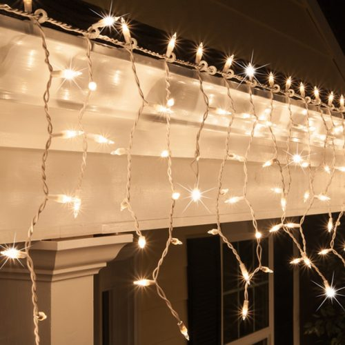 Icicle Lights Neutral per 2m