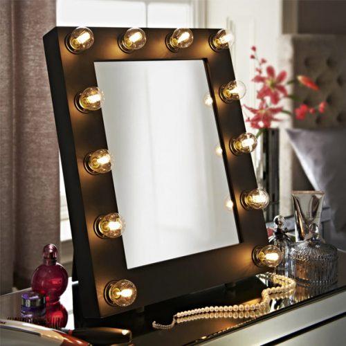 Illuminated Hollywood Mirrors