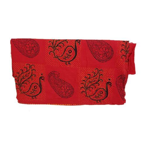 Indian Sari Red