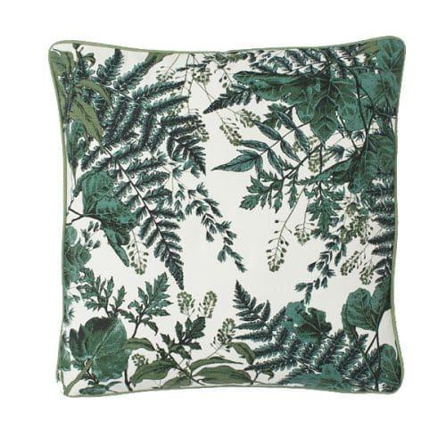 50cm Green Leaf Cushion
