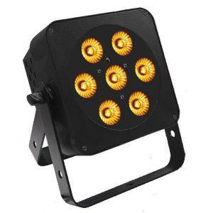 LEDJ Slim line 7Q5 RGBA Uplighter