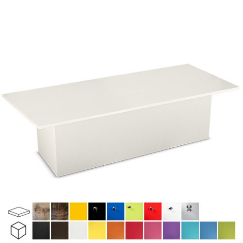 Colours Large Rectangular Coffee Table