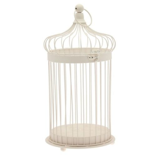 Large Cream Bird Cage