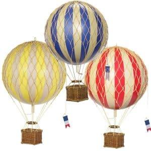 Mini Vintage Hot Air Balloon