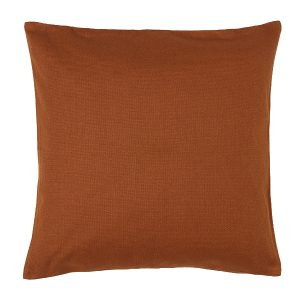 50cm Light Brown Velvet Cushion