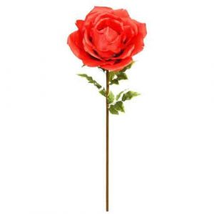 Over-sized Red Rose Stem