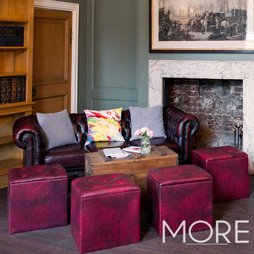 Oxblood Chesterfield Sofa