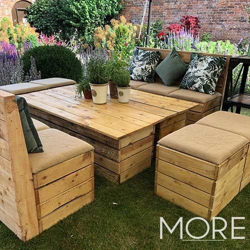Rustic Large Rectangular Coffee Table