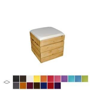 Rustic Cube Seat