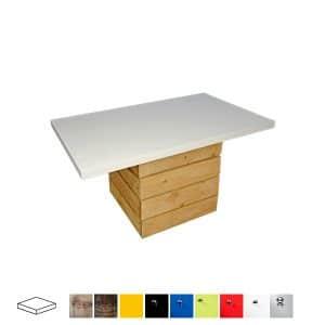 Rustic Rectangular Coffee Table