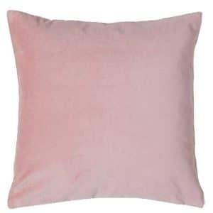 50cm Pink Velvet Cushion