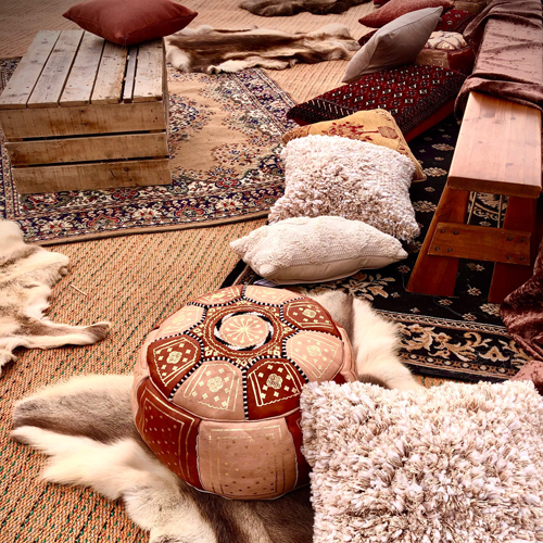 Traditional Rug Beige