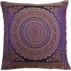 Purple Moroccan Cushion