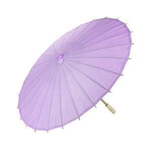 Purple Paper Parasol