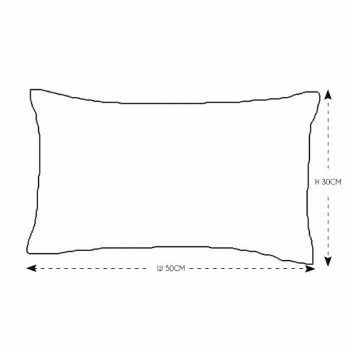 Rectangular Red Velvet Cushion