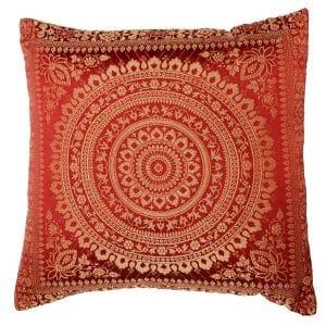 Orange Moroccan Cushion