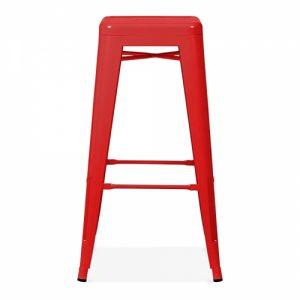 Red Tolix Poseur Stool