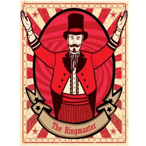 Ringmaster Circus Poster 2mx3m