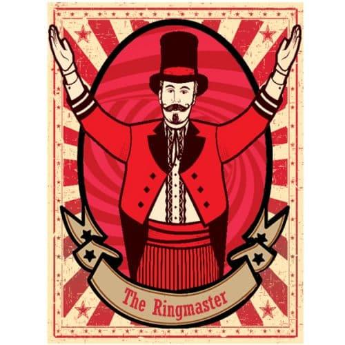 Ringmaster Circus Poster 1.5mx2m