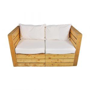 Rustic 2 Seater Sofa