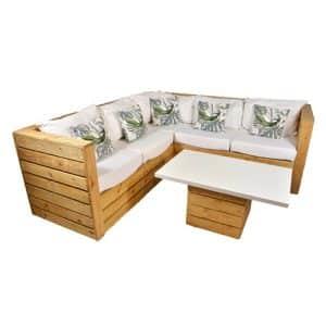 Rustic Corner Sofa Set