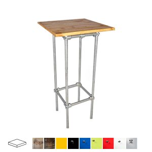 Industrial Poseur Table