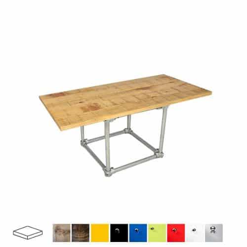 Industrial Rectangular Coffee Table