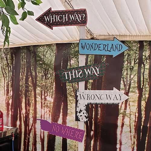 Wonderland Sign