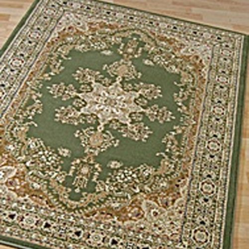 Traditional Rug Green