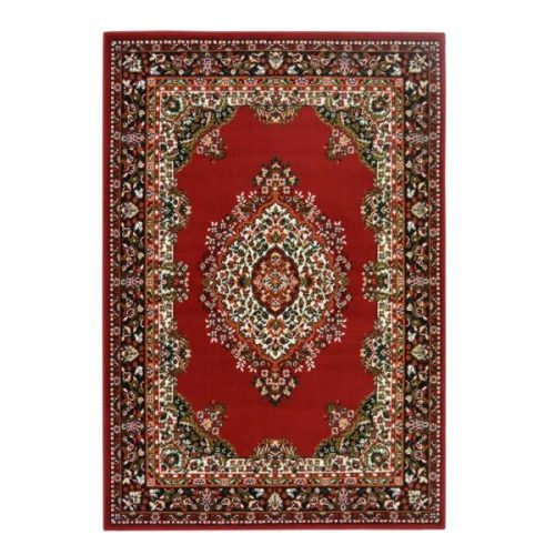 Traditional Rug Red