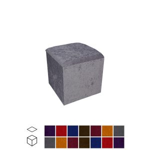 Velour Touch Cube Seat