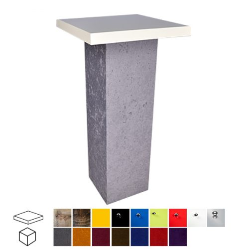 Velour Touch Poseur Table