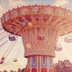 Vintage Fair Backdrop