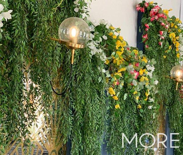 Wedding-Installations-theming-Greek foliage