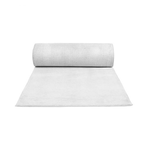 2m Wide White Carpet, per meter