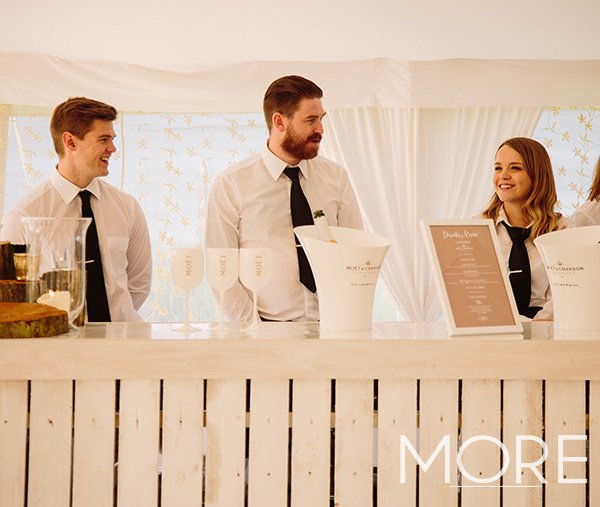 Wedding bar white wash pallet bar