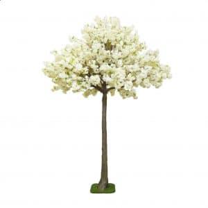 4m White Blossom Tree