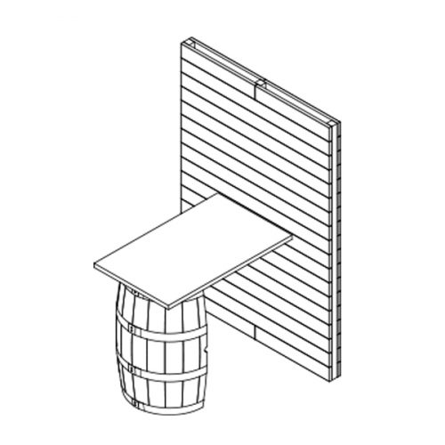 X1 Small Pallet And Barrel Stand