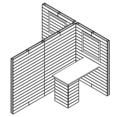 X2 Large Pallet And Barrel Stands Deep Design