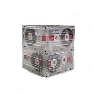 Cassette Tape Table Centre