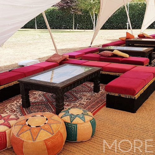 Low Level Moroccan Bench