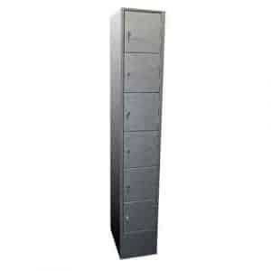 6 Compartment Metal Lockers