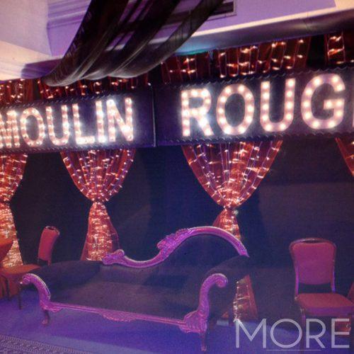 Moulin Rouge Sign 3m