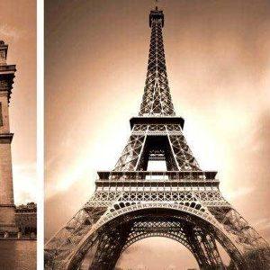 Paris Montage Backdrop