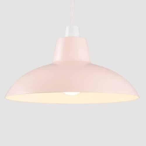 Pink Retro Lamp Shade