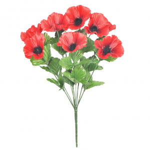 Artificial Poppy Bunch