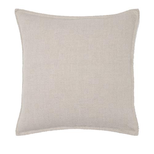 50cm White-Oyster Linen Cushion